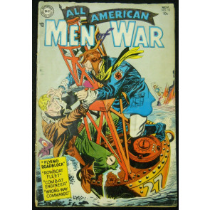 ALL-AMERICAN MEN OF WAR  #15 GD