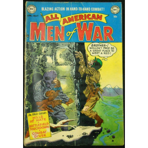 ALL-AMERICAN MEN OF WAR #4 GD/VG