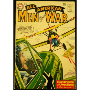 ALL-AMERICAN MEN OF WAR  #81 FN
