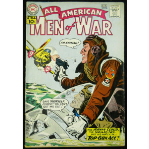 ALL-AMERICAN MEN OF WAR  #86 FN-