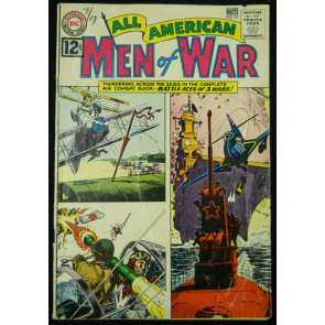 ALL-AMERICAN MEN OF WAR  #93 VG