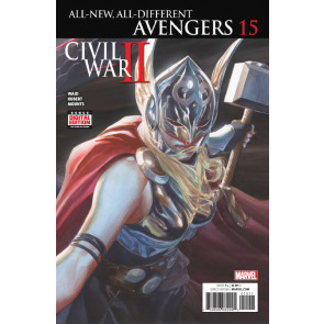 All-New All-Different Avengers (2015) #15 VF/NM Alex Ross Thor Cover