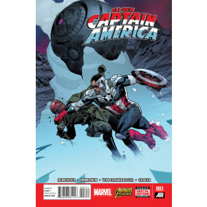 ALL-NEW CAPTAIN AMERICA (2014) #3 VF/NM MARVEL NOW!