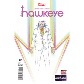 ALL-NEW HAWKEYE (2015) VOLUME 2 #2 VF/NM LEMIRE PEREZ