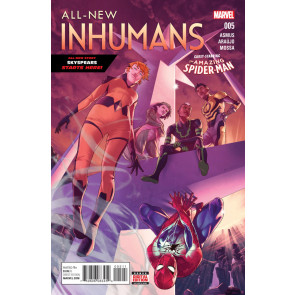 ALL-NEW INHUMANS (2015) #5 VF/NM  GUEST-STARRING AMAZING SPIDER-MAN