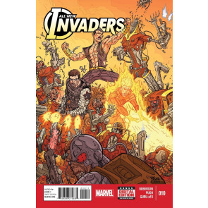 ALL-NEW INVADERS (2014) #10 FN/VF-VF- MARVEL NOW!