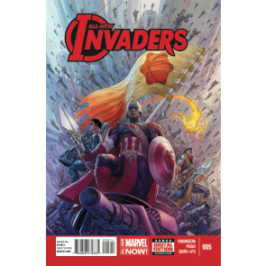 ALL-NEW INVADERS (2014) #5 VF+ - VF/NM MARVEL NOW!