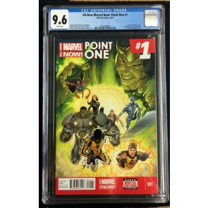 All New Marvel Now Point One #1 CGC 9.6 1st App of Kamala Khan (2062548003)