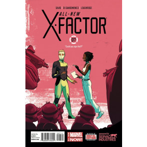 ALL-NEW X-FACTOR (2014) #7 VF/NM MARVEL NOW!