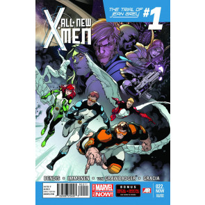 ALL-NEW X-MEN #22 VF/NM THE TRIAL OF JEAN GREY 2ND PRINTING VARIANT COVER