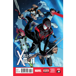ALL-NEW X-MEN #34 VF/NM MILES MORALES ULTIMATE SPIDER-MAN MARVEL NOW!