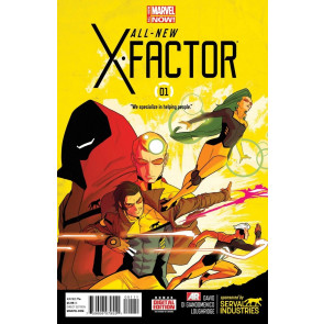 All-New X-Factor (2014) #'s 1 2 3 + #1 Skottie Young Variant Cover Lot 4 Books