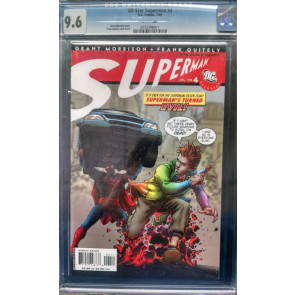 ALL-STAR SUPERMAN (2006) #4 CGC GRADED 9.6 WHITE PAGES GRANT MORRISON QUITELY