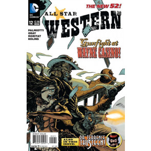 ALL-STAR WESTERN #12 NM THE NEW 52!