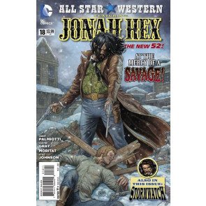 ALL-STAR WESTERN #18 VF+ -VF/NM THE NEW 52!