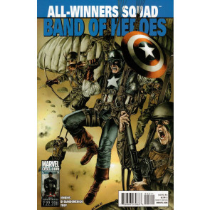 ALL-WINNERS SQUAD #2 OF 8 NM CAPTAIN AMERICA