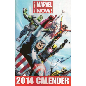 All-New Marvel Now! 2014 Wall Calendar John Cassaday Cover