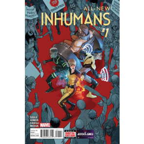 All-New Inhumans (2015) #1 VF/NM