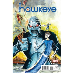 All-New Hawkeye (2016) #1 VF/NM Lemire Kirby Monster Variant Cover