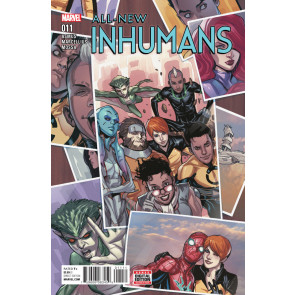 All-New Inhumans (2015) #11 VF/NM