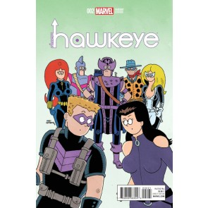 All-New Hawkeye (2016) #2 VF/NM Fred Hembeck Variant Cover