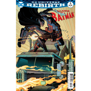 All-Star Batman (2016) #3 VF/NM John Romita Jr Cover