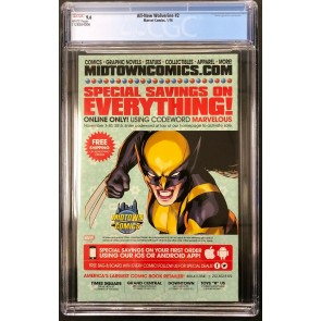 All-New Wolverine (2015) #2 CGC 9.6 1st app Gabby Belona Zelda (2128764006)