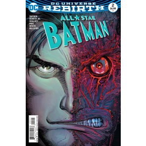 All-Star Batman (2016) #2 VF/NM John Romita Jr Cover