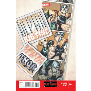ALPHA: BIG TIME #4 NM MARVEL NOW!