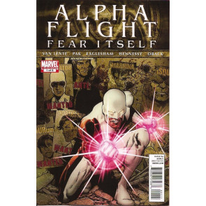 ALPHA FLIGHT #1 OF 8 (2011) NM FEAR ITSELF TIE-IN
