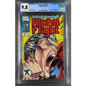 Alpha Flight (1983) #106 CGC Graded 9.8 Northstar Red Logo (3701832021)