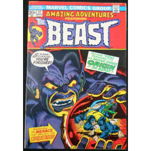 AMAZING ADVENTURES #17 FN+ 1972 BEAST ORIGIN X-MEN APPEARANCE
