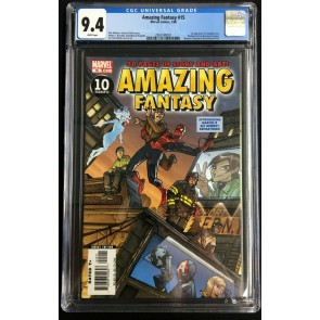 Amazing Fantasy (2006) #15 CGC 9.4 white pages 1st app Amadeus Cho (2062548002)