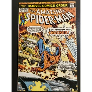 Amazing Spider-Man #152 (1977) F+ (6.5) Shattered by the Shocker!|