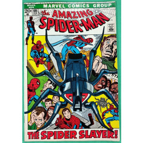 Amazing Spider-Man (1963) #105 VF- (7.5) vs Spider Slayers