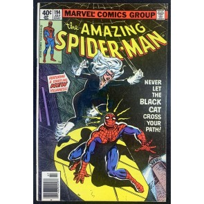Amazing Spider-Man (1963) #194 FN/VF (7.0) App Black Cat