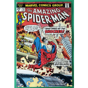 Amazing Spider-Man (1963) #152 VF (8.0) vs Shocker