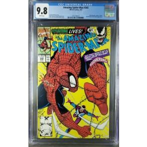 Amazing Spider-Man #345 (1991) CGC 9.8 WP Cletus Kasady symbiote (3701792013)|