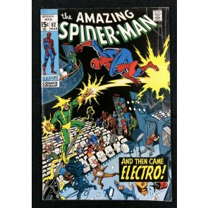 Amazing Spider-Man (1963) #82 FN+ (6.5) Electro cover