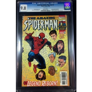 Amazing Spider-Man (1998) #1 (Lgy #442) CGC 9.8 (0804920002)