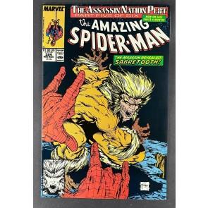 Amazing Spider-Man (1963) #324 VF/NM (9.0) Sabretooth App Todd McFarlane Art