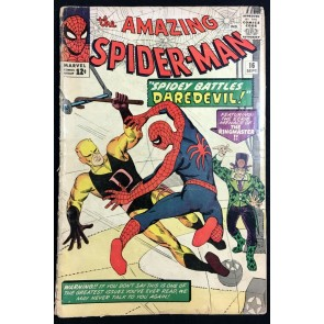 Amazing Spider-Man (1963) #16 PR (0.5) Daredevil in original costume