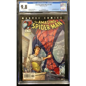 Amazing Spider-Man (1963) #31 (#472) CGC 9.8 Scott Campbell Cover (2128262020)