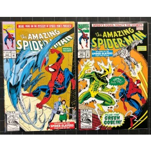 Amazing Spider-Man (1963) #368-373 complete Invasion of the Spider-Slayers set