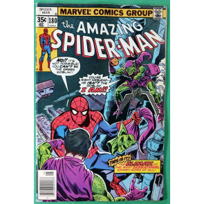 Amazing Spider-Man (1963) #180 VF (8.0)  Green Goblin story - pt 5 of 5