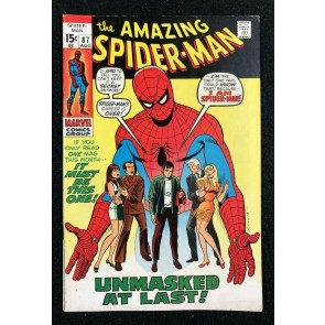 Amazing Spider-Man (1963) #87 FN- (5.5)
