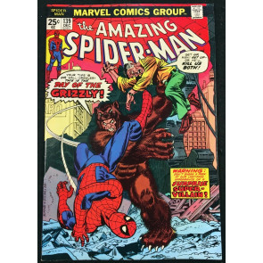 Amazing Spider-Man (1963) #139 VF/NM (9.0) 1st app Grizzly