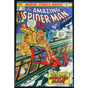 Amazing Spider-Man (1963) #133 NM- (9.2) vs Molten Man Mark Jewelers variant