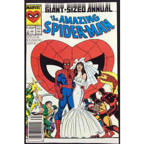 Amazing Spider-Man Annual (187) #21 NM (9.4) Wedding issue Spider-Man cover