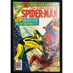 Amazing Spider-Man Annual (1964) #10 FN- (5.5) Human Fly Gil Kane